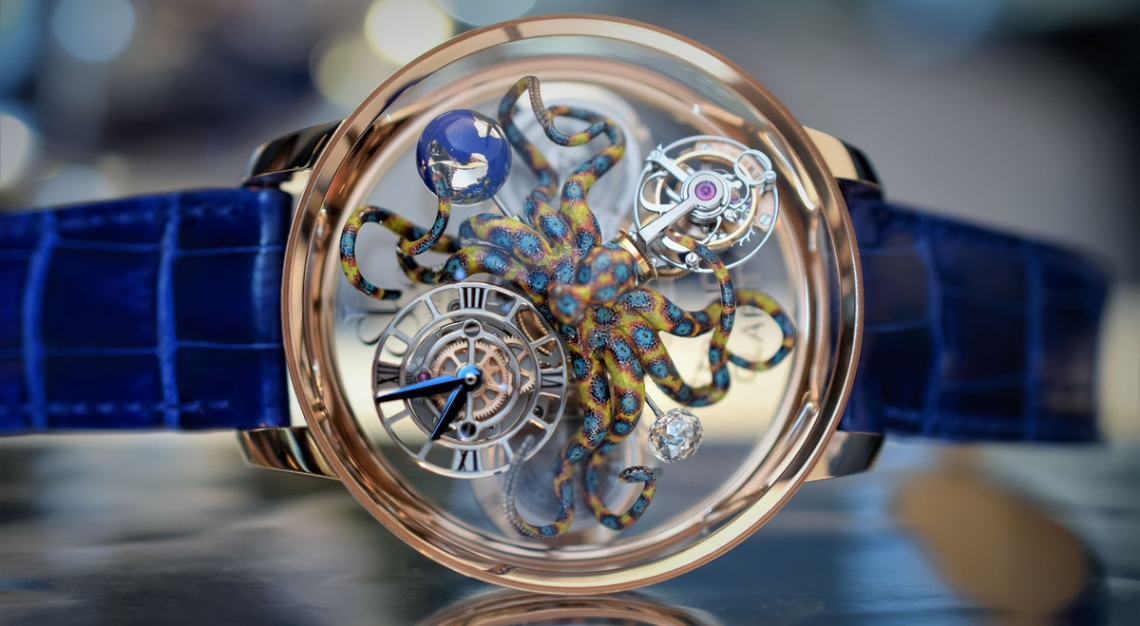 The Jacob & Co Astronomia Octopus