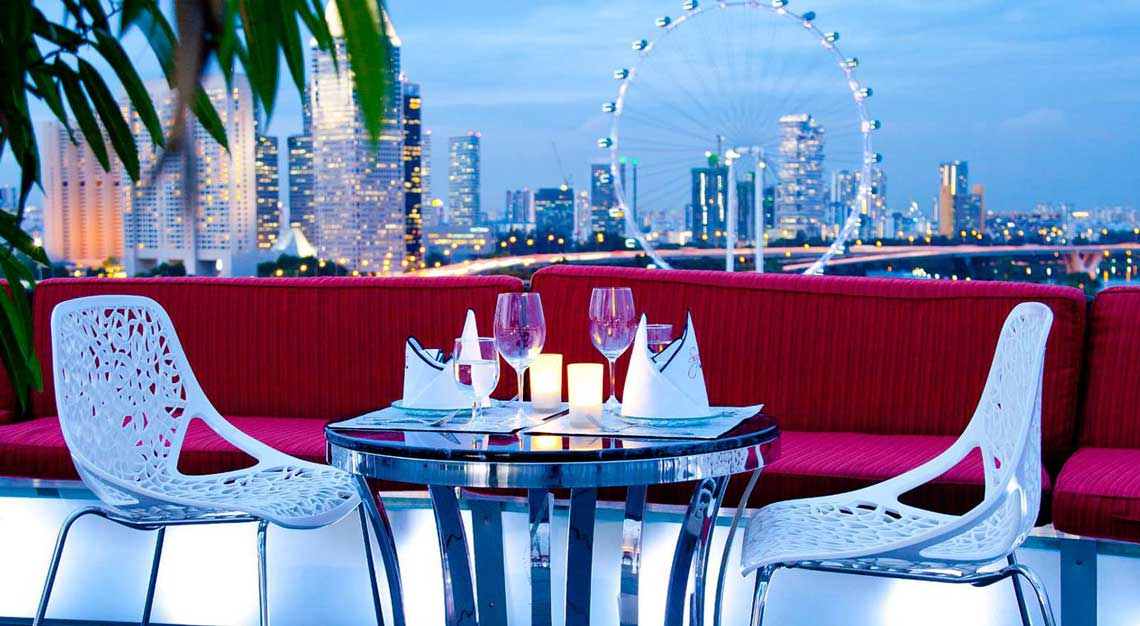 Restaurants in Singapore with a view - SuperTree by Indochine