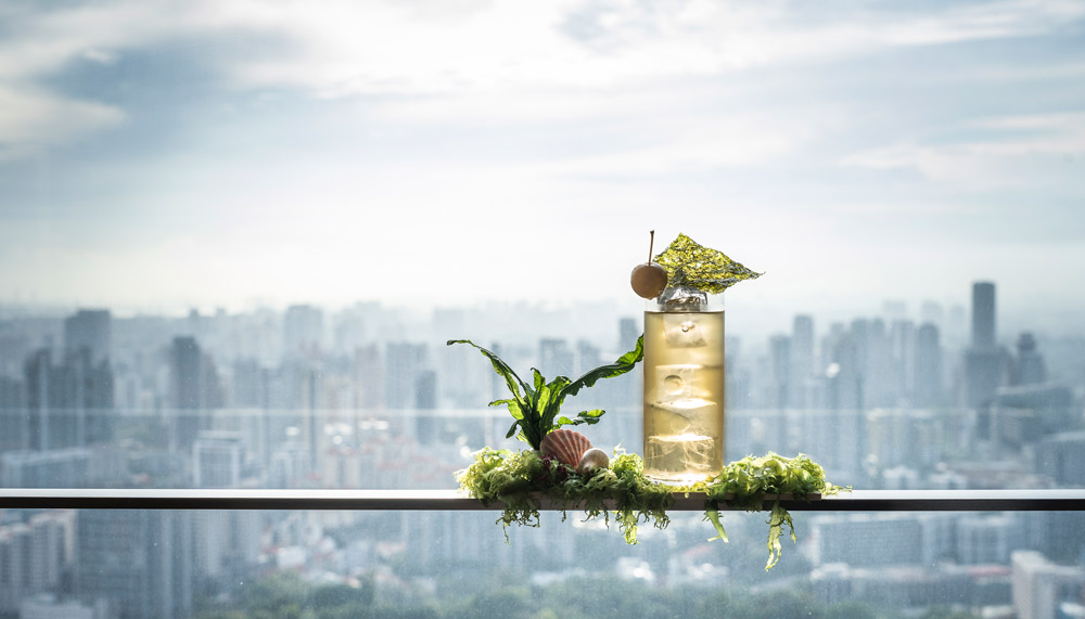 Restaurants in Singapore with a view - Skai