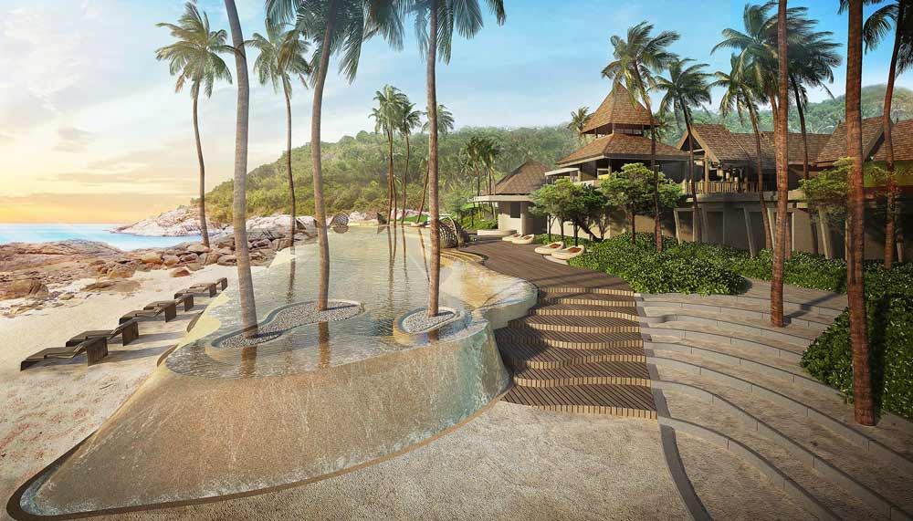 Luxury resorts and villas near Singapore - The Ritz-Carlton, Koh Samui