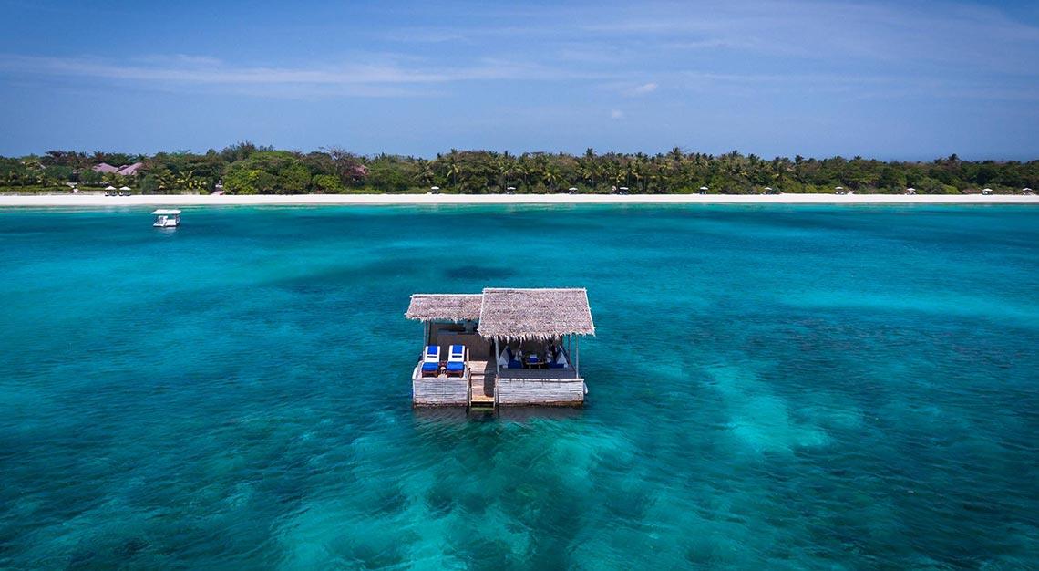 Amanpulo, Private islands