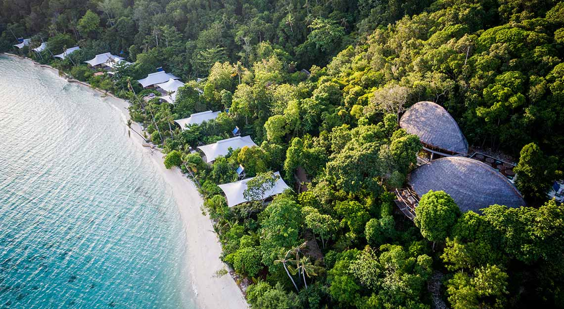 Bawah Island, Indonesia, private islands