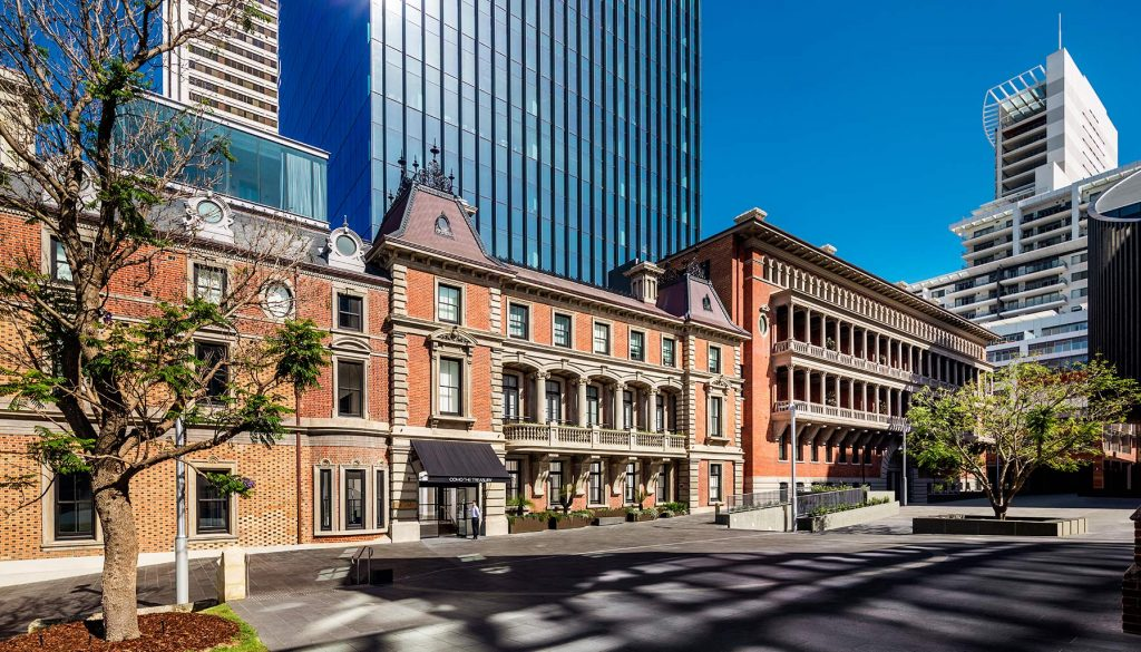 Como the Treasury leads an unprecedented historic renaissance in Perth