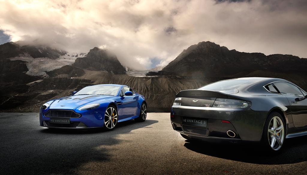 Aston Martin V8 and V12 Vantage