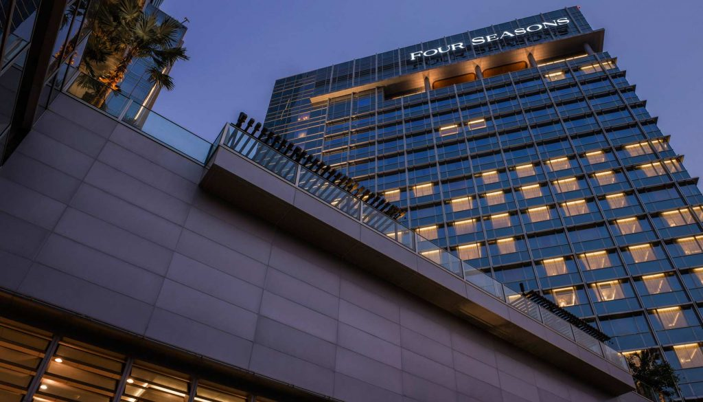 The Newly Revamped Four Seasons Hotel Jakarta Interweaves Present Day With Blasts From the Past