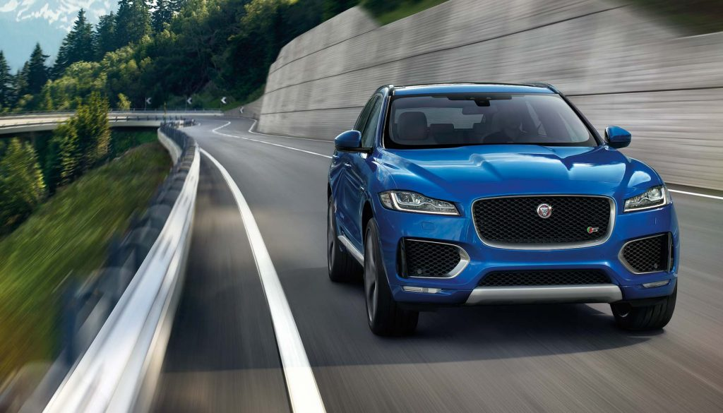 Jaguar's F-Pace is agile, and ready to pounce