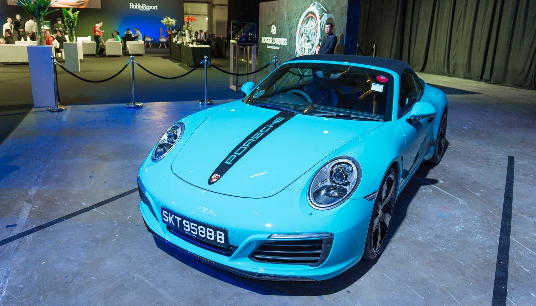 Coty 2016 contender: Porsche 911 Carrera S Cabriolet