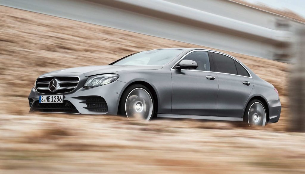 Purchase to Mercedes-Benz's fifth-generation E-Class