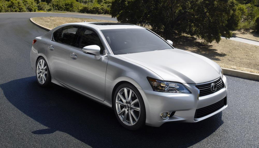 Is the Lexus GS getting on in years?