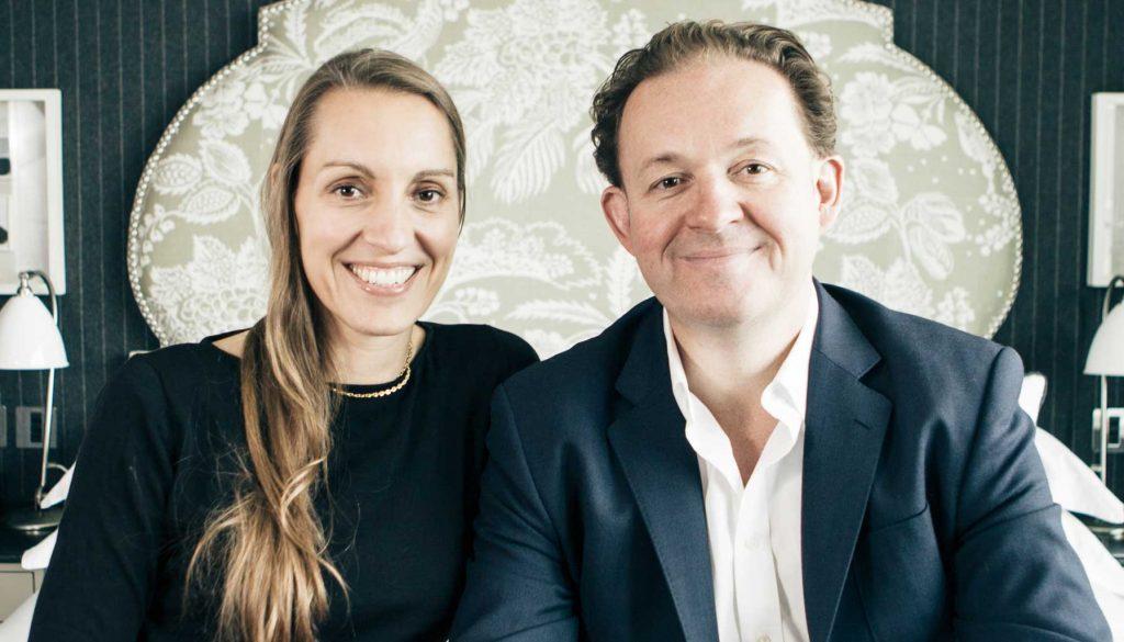 James and Tamara Lohan of Mr & Mrs Smith