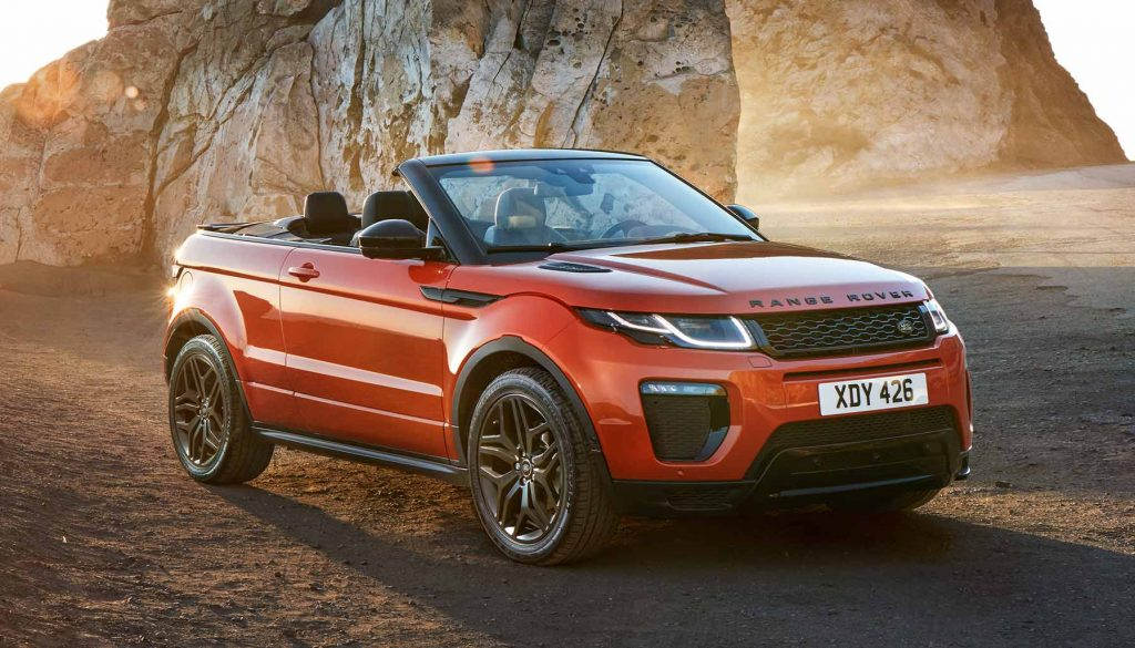 The pros and cons of owning a soft-top Range Rover Evoque Convertible