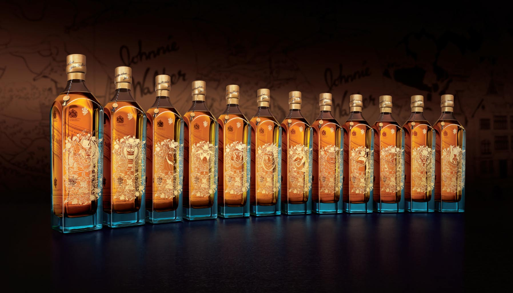 Three exclusive Lunar New Year collections by Johnnie Walker House