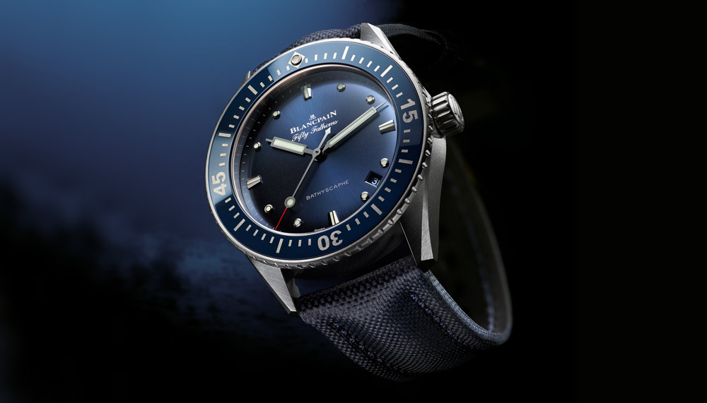 Fifty Fathoms Bathyscaphe, Blancpain