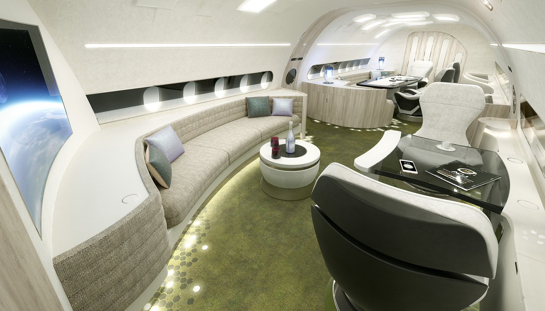 Airbus corporate jets