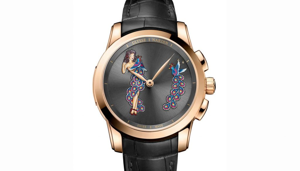 Hourstriker Pin-Up Ulysse Nardin