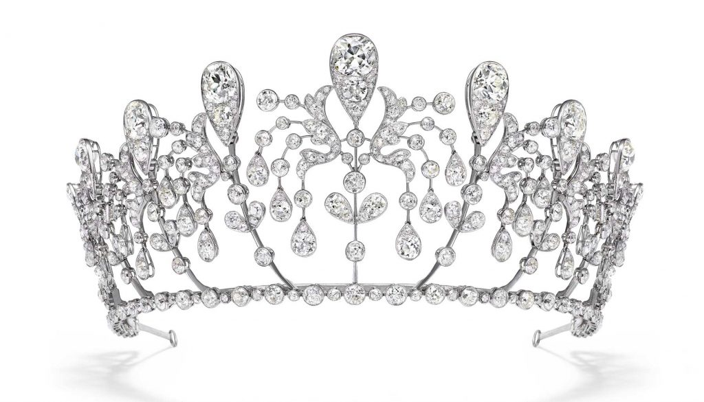 Chaumet Bourbon-Parma tiara, at Beijing's Forbidden City