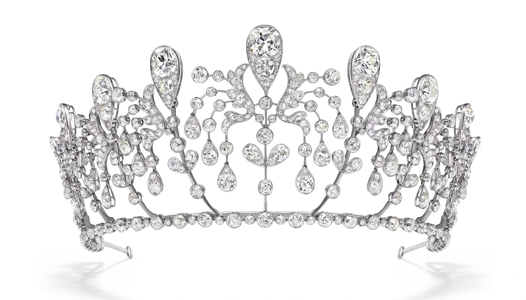Chaumet Bourbon-Parma tiara, at Beijing's Forbidden City