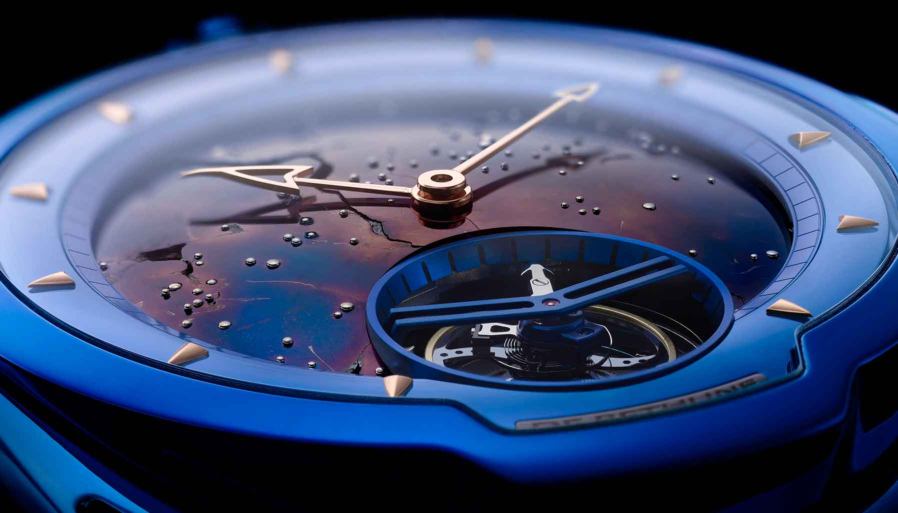 A star is born: The De Bethune DB28 Kind of Blue Tourbillon Meteorite