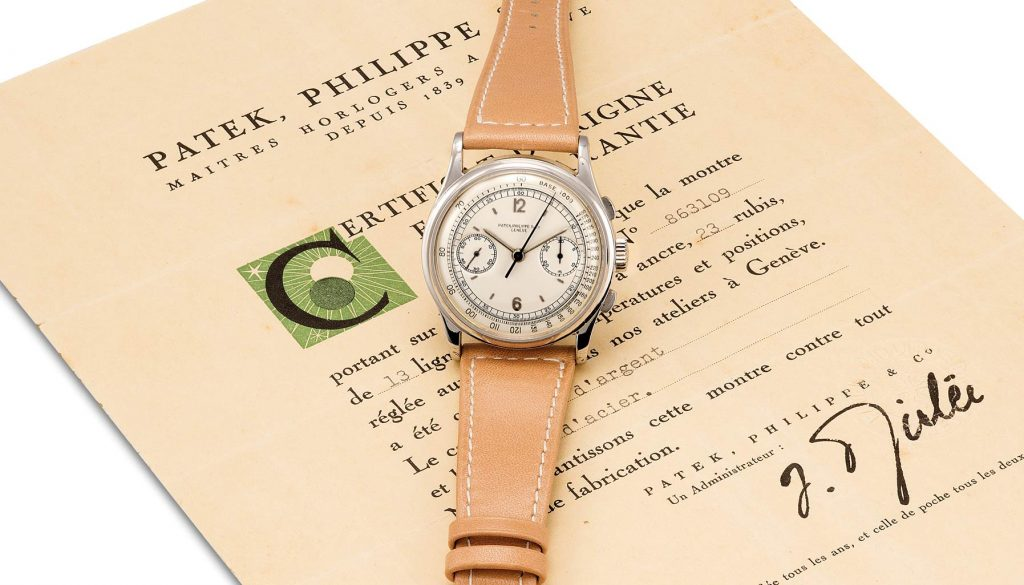 Phillips Watch auction