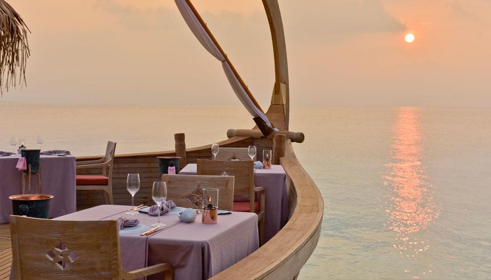Ba'theli Restaurant Milaidhoo Maldives
