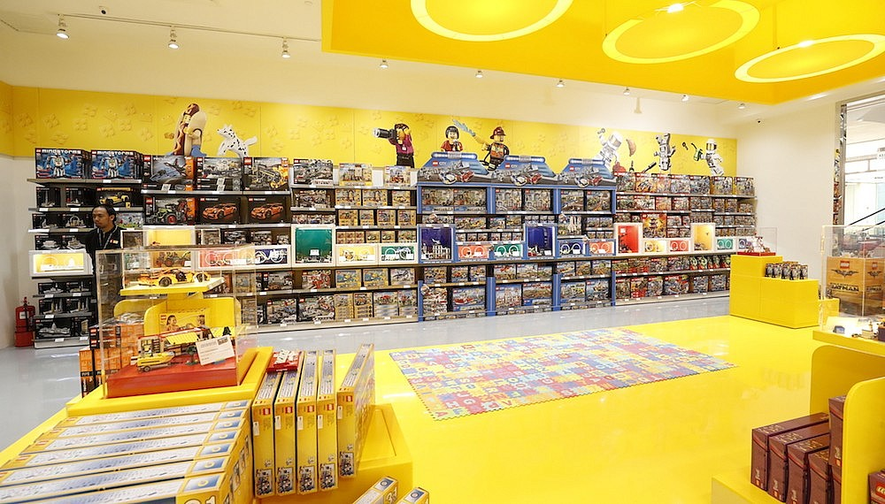 The new Lego flagship store in Pavilion KL