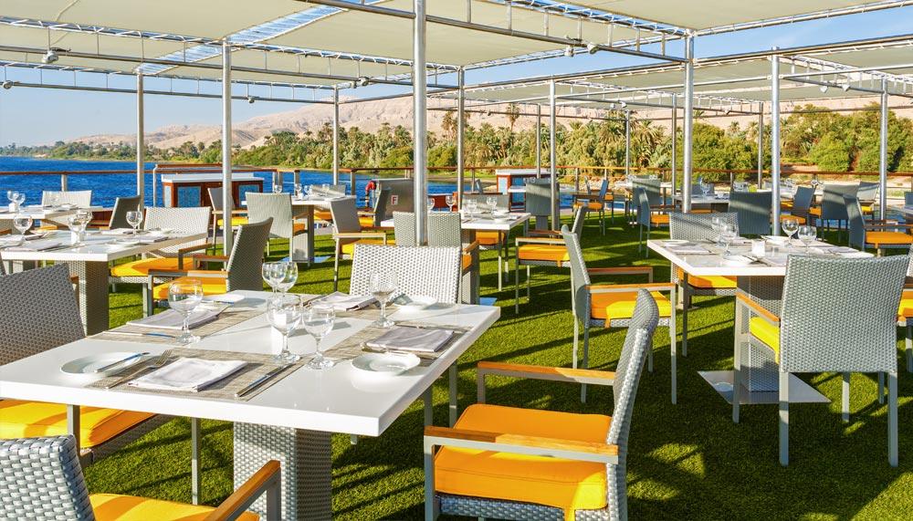 OberoiPhilae, luxury cruise on the Nile