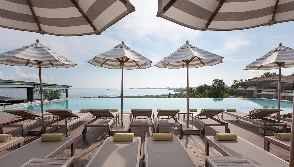 Sun and pool deck, Mantra Samui Resort