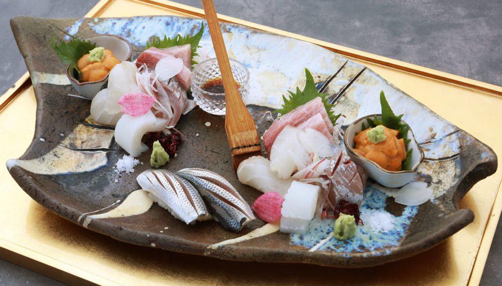 Sashimi from Kappo Shunsui