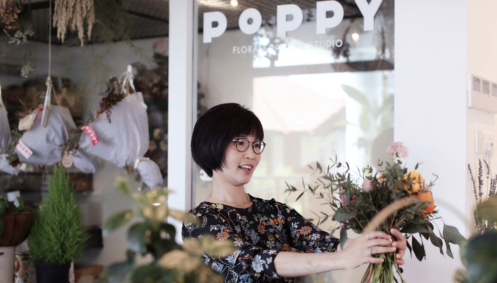 Sarah Lim of Poppy Flora Studio
