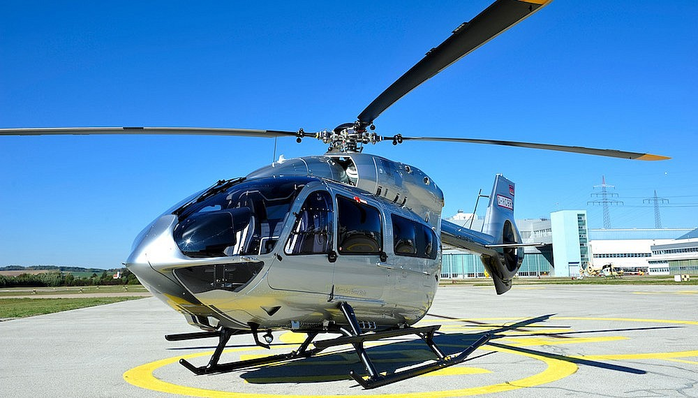 H145 chopper by Airbus Helicopters