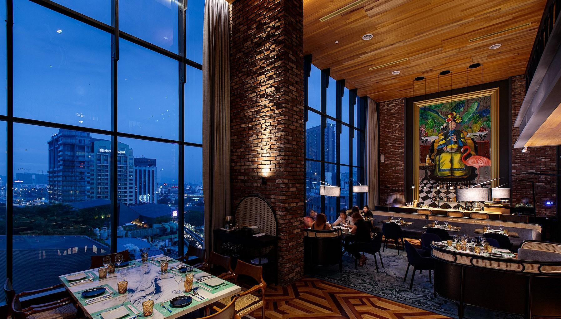 Fine dining in Kuala Lumpur, Malaysia