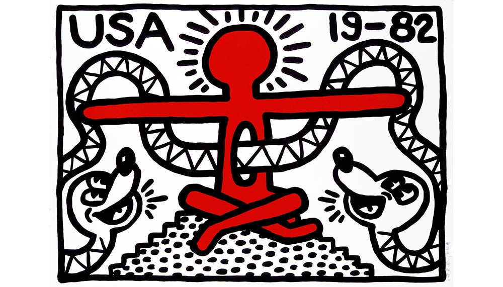 19-82 by Keith Haring
