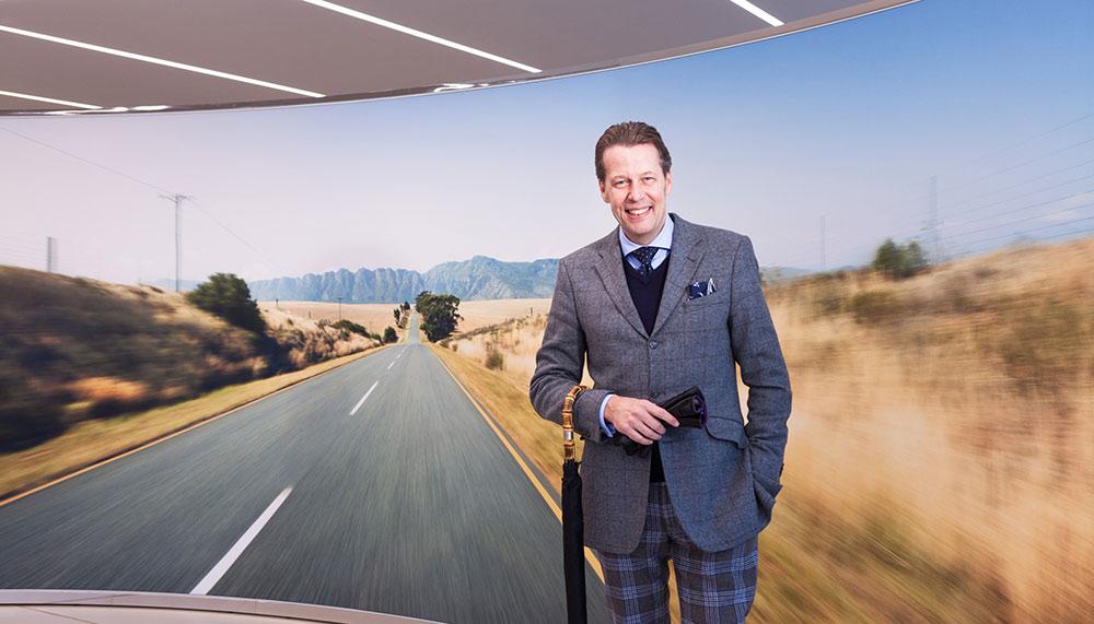 Stefan Sielaff, Bentley's head of design
