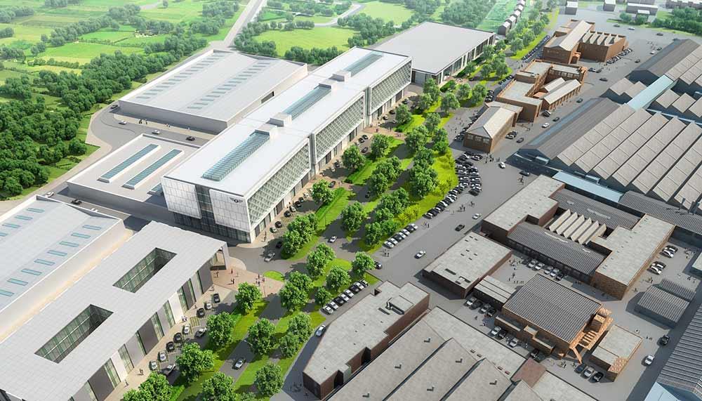 Bentley's headquarters