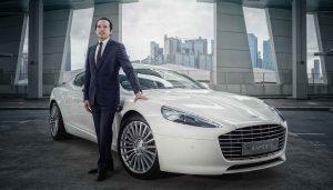 Aston Martin Rapide S, Taha Bouqdib