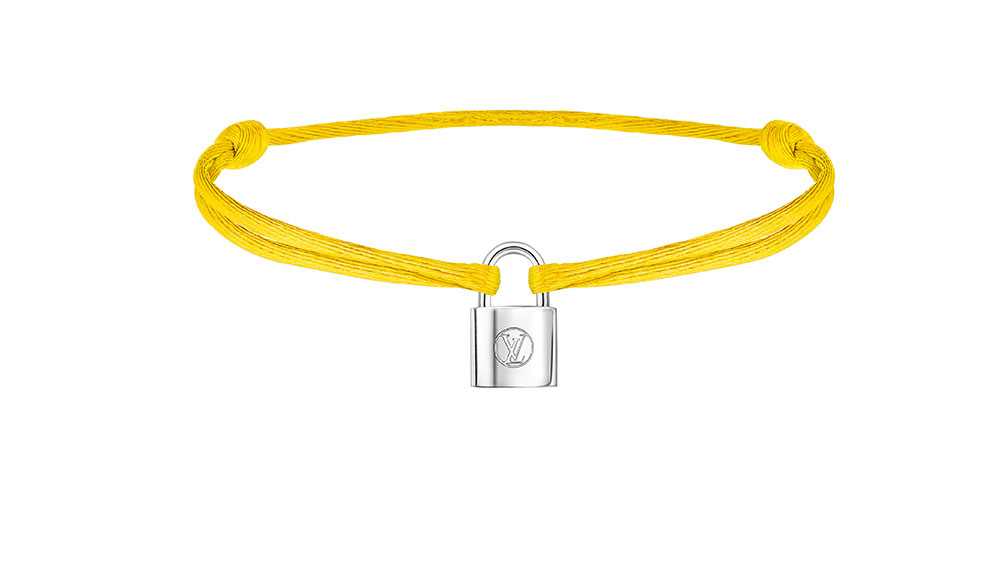 Louis Vuitton Silver Lockit bracelet