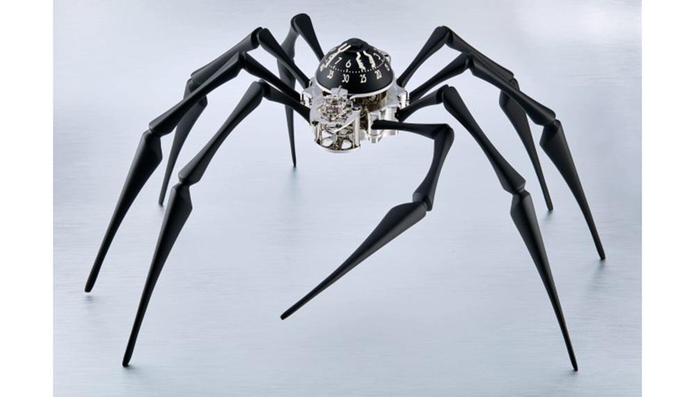 MB&F Arachnophobia spider clock