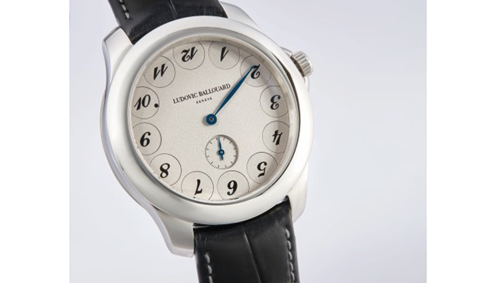 Ludovic Ballouard Upside Down timepiece