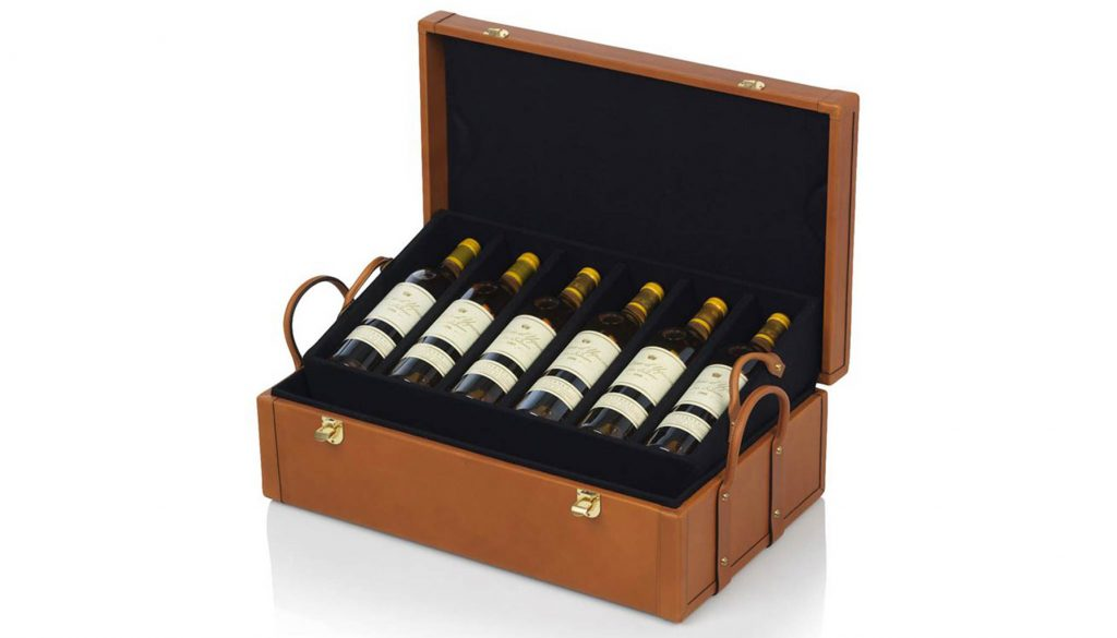 Chateau D'Yquem wine Leather collection