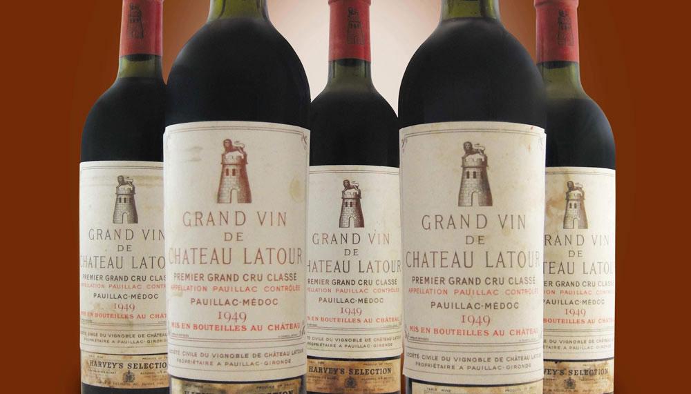 Chateau Latour Vertical collection
