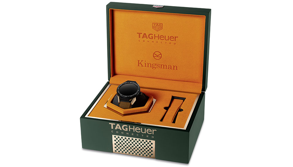 Tag Heuer Connected Watch Kingsman Special Edition Kit