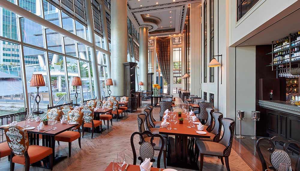 La Brasserie, Fullerton Bay Hotel