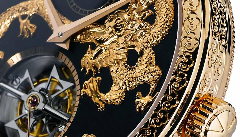 Vacheron Constantin Traditionnelle 14-Day Tourbillon Dragon