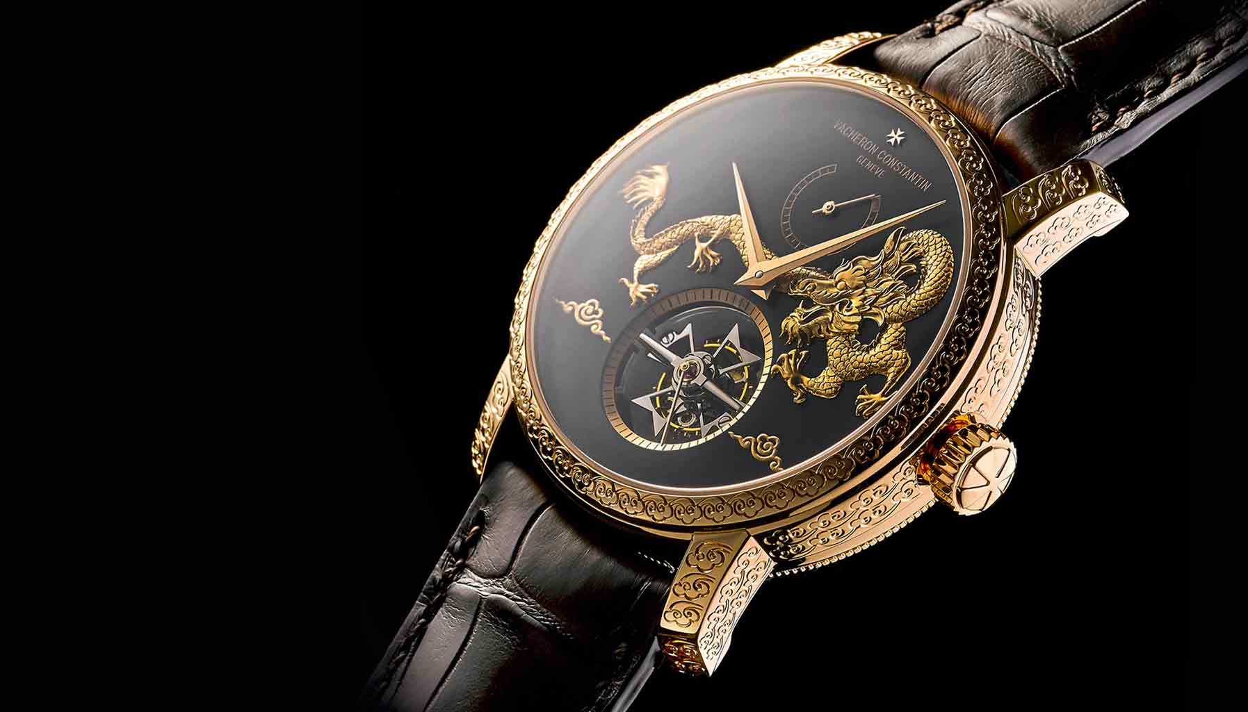 Vacheron Constantin Traditionnelle 14-Day Tourbillon Dragon