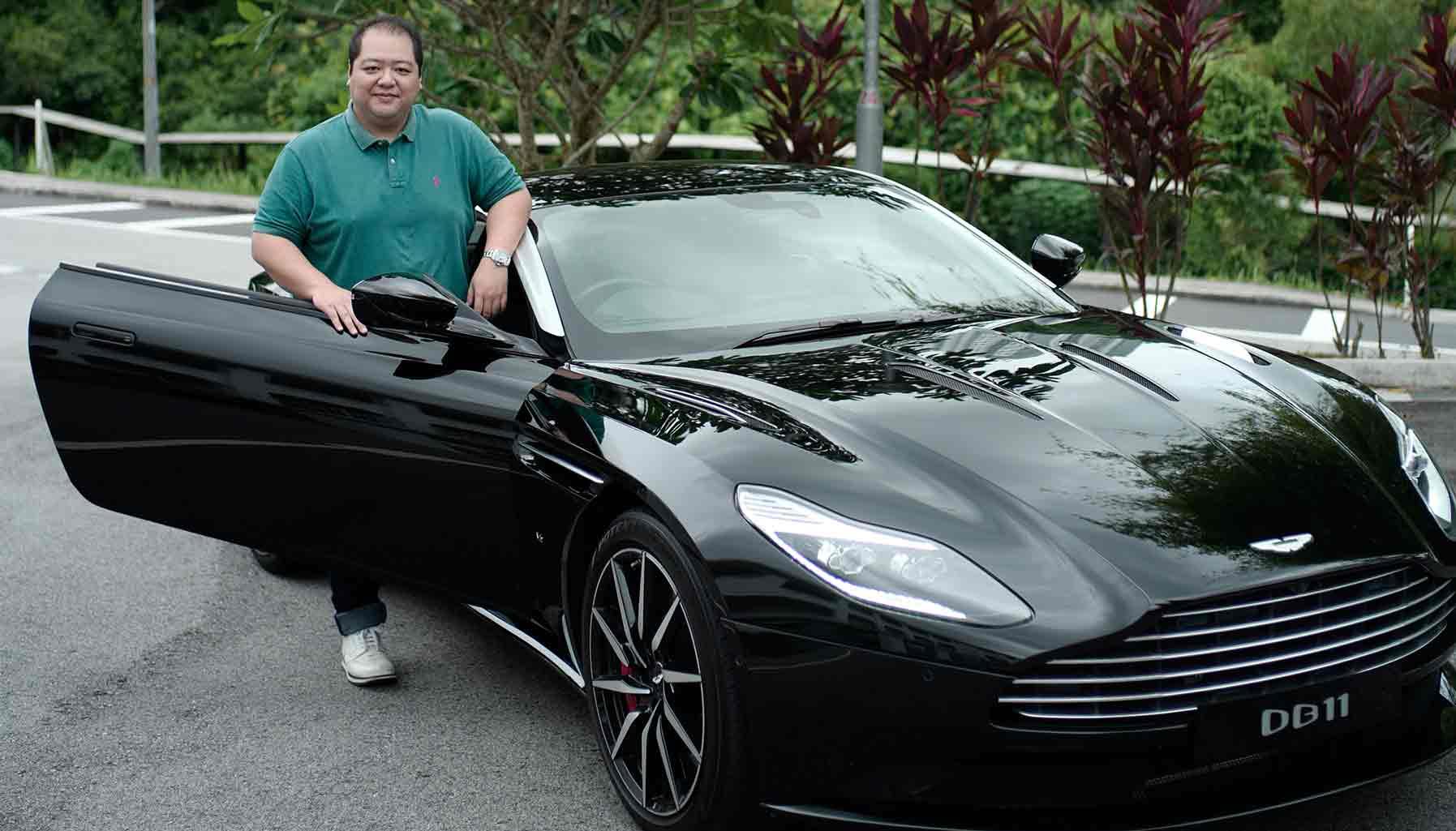 Jonathan Kwan, Kwan Pen, Aston Martin DB11
