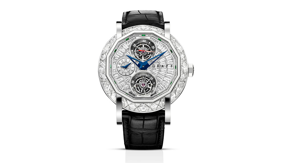 Master Graff Double Tourbillon GMT