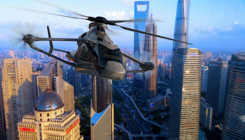 Racer, Airbus helicopter