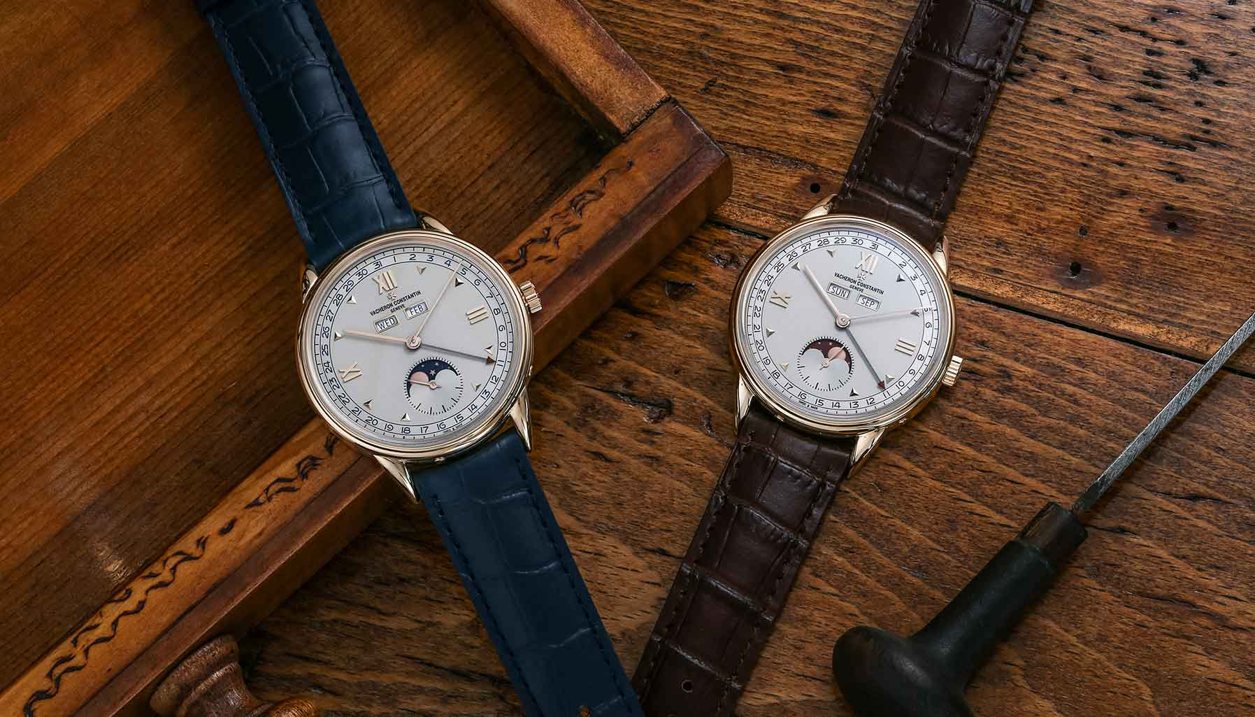 Vacheron Constantin Triple Calendrier 1942 and Triple Calendrier 1948
