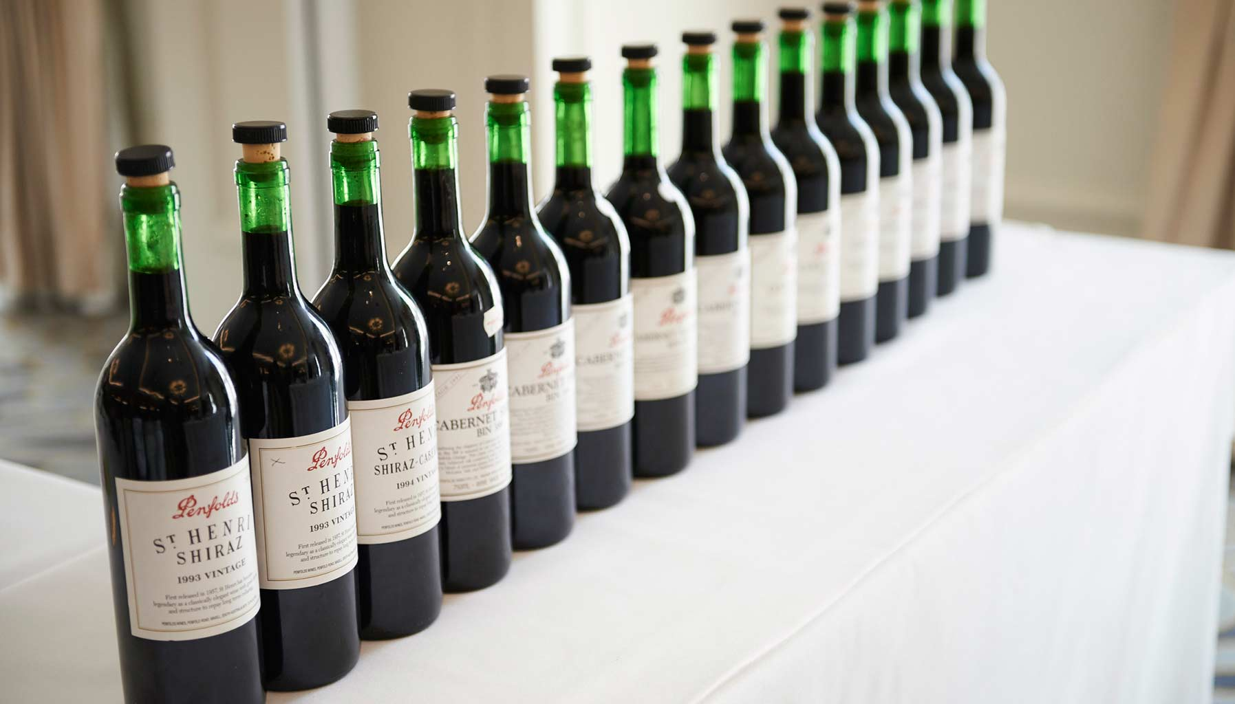Penfolds red wines