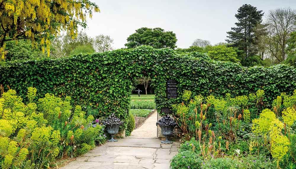 Edible herb garden, The Raymond Blanc Gardening School, Belmond hotel